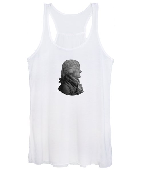 Thomas Jefferson Profile Women's Tank Top