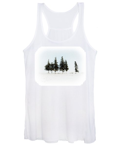 6 Trees Women's Tank Top