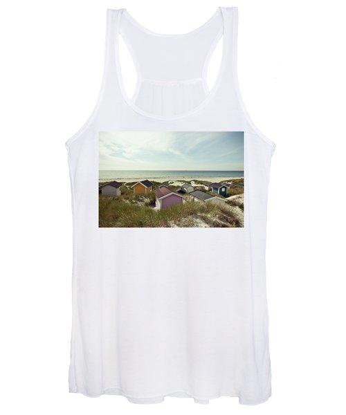 Beach Houses And Dunes Women's Tank Top