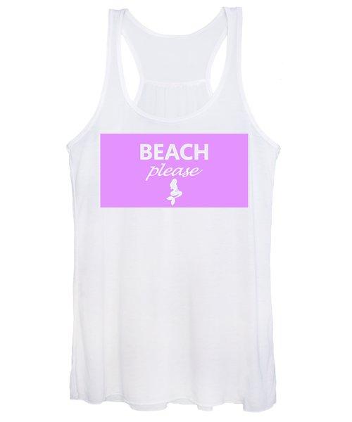 Beach Please Women's Tank Top