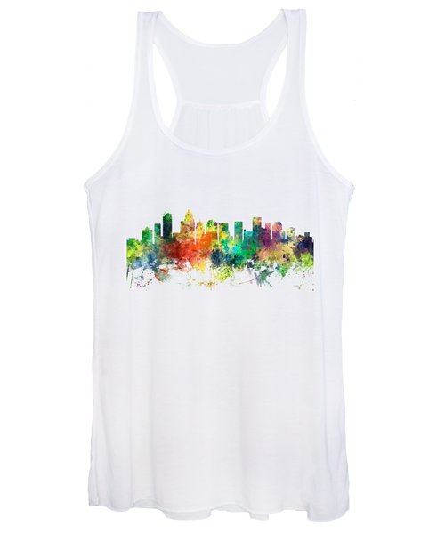 Charlotte Nc Skyline Women's Tank Top