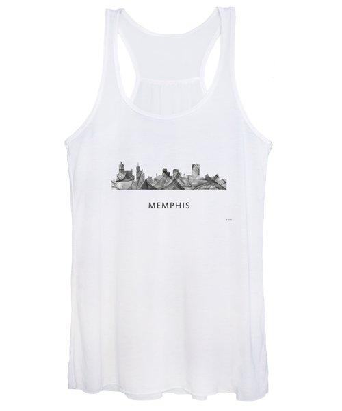 Memphis Tennessee Skyline Women's Tank Top