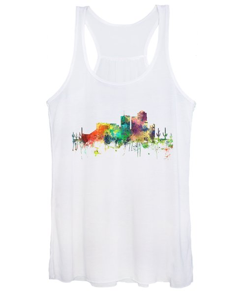 Tucson Arizona Skyline Women's Tank Top