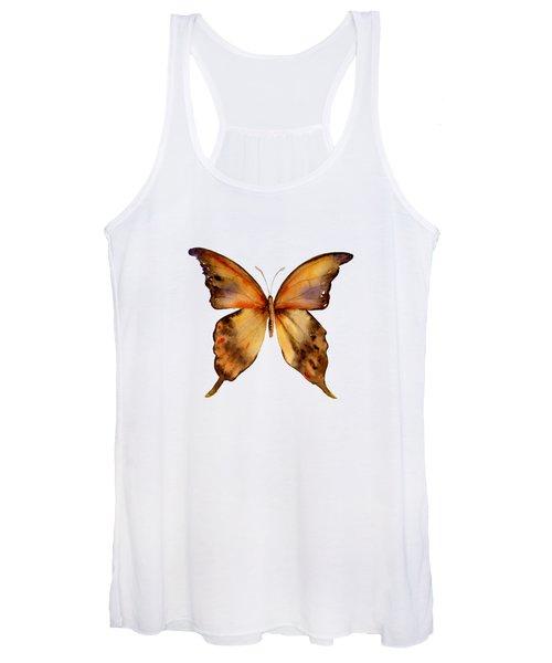 7 Yellow Gorgon Butterfly Women's Tank Top