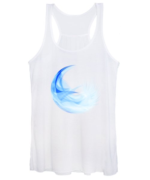 Abstract Feather Women's Tank Top