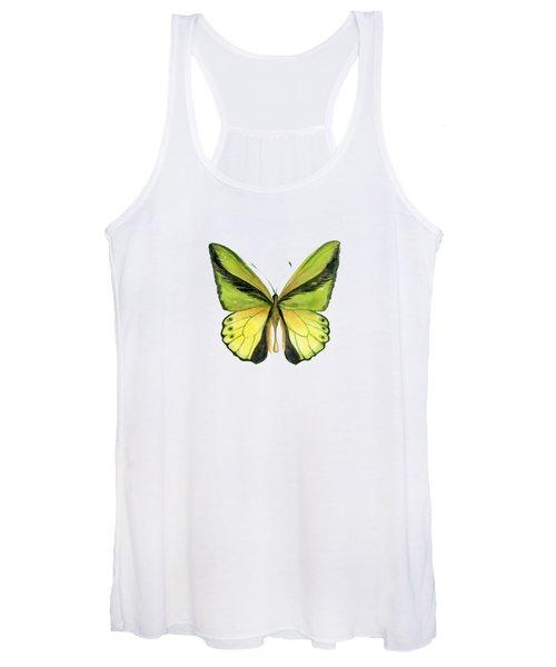 8 Goliath Birdwing Butterfly Women's Tank Top