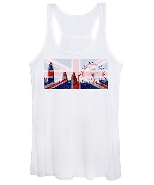 London Skyline Women's Tank Top