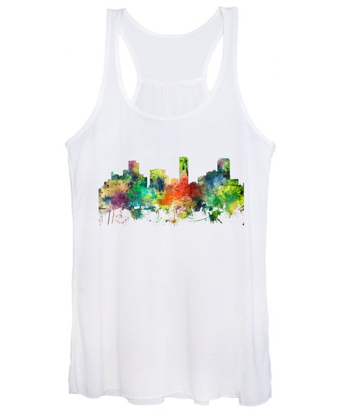 Denver Colorado Skyline Women's Tank Top