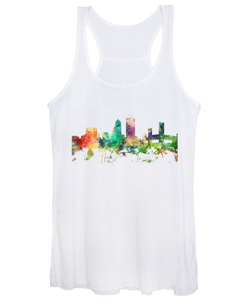 Jacksonville Florida Skyline Women's Tank Top