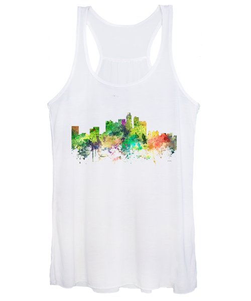 Los Angeles California Skyline Women's Tank Top