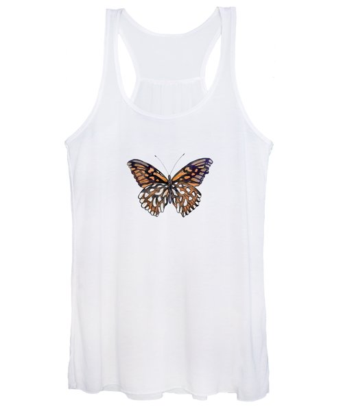 9 Mexican Silver Spot Butterfly Women's Tank Top