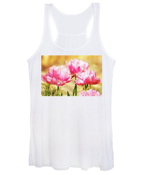 A Bouquet Of Tulips Women's Tank Top