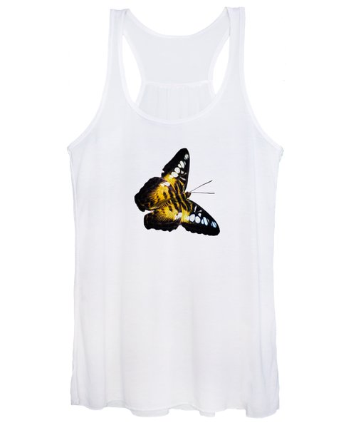 A Butterfly In The Forest Women's Tank Top