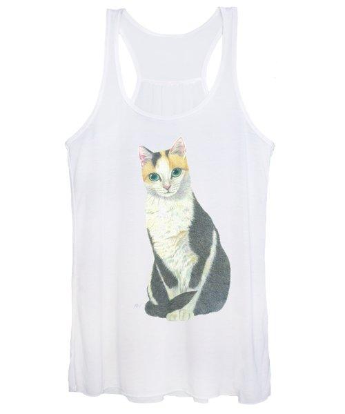 A Calico Cat Women's Tank Top