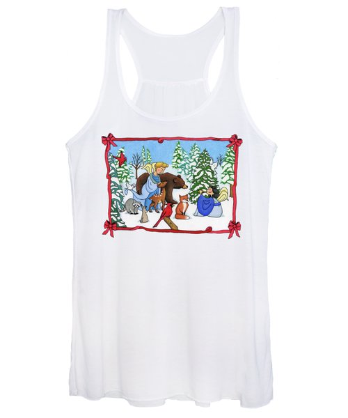 A Christmas Scene 2 Women's Tank Top