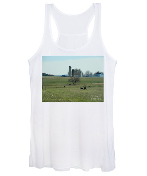 A Clear November Day Women's Tank Top