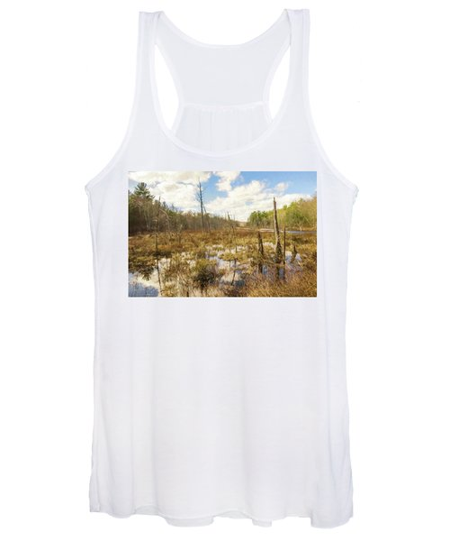 A Connecticut Marsh Women's Tank Top