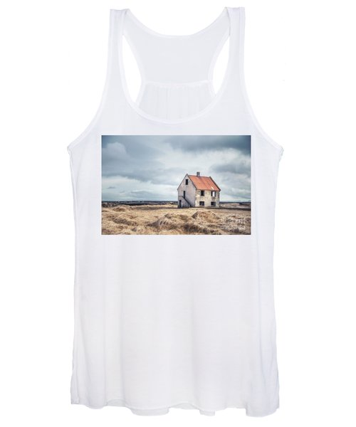 A Crumpled Story Women's Tank Top