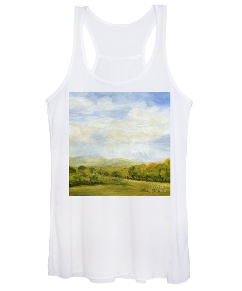 A Day In Autumn Women's Tank Top