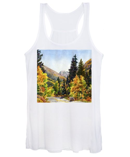 A Drive In The Mountains Women's Tank Top