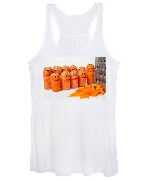 A Grate Carrot 1. Women's Tank Top