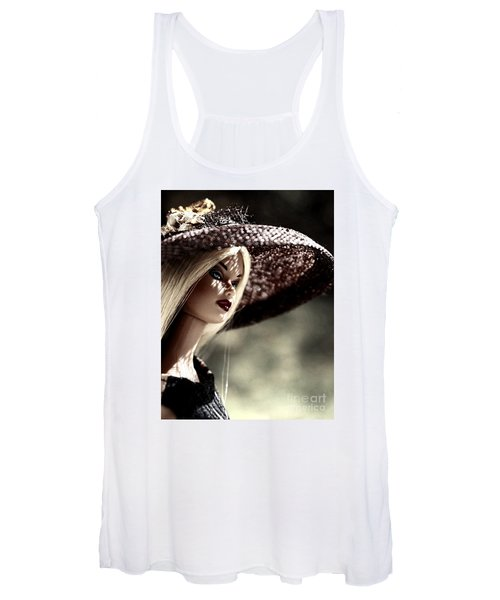 A Lady At The Derby Women's Tank Top