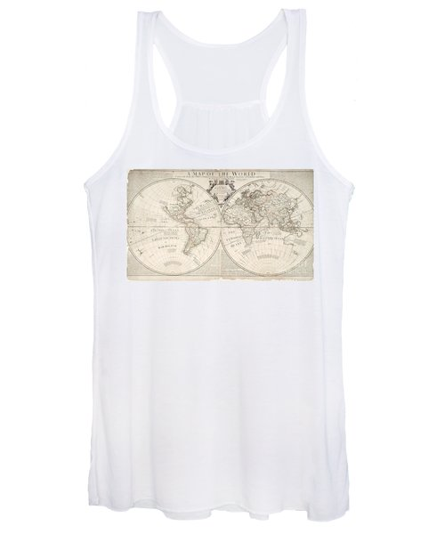 A Map Of The World Women's Tank Top