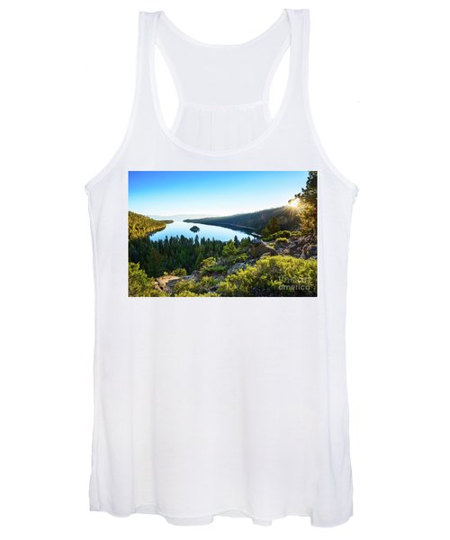 A New Day Over Emerald Bay Women's Tank Top