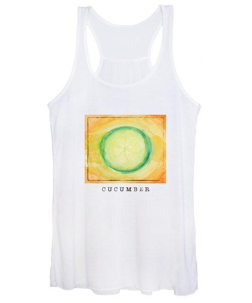 A Piece Of Cucumber Women's Tank Top