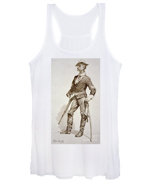 A Sergeant Of The Us Cavalry Women's Tank Top