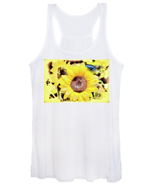 A Touch Of Blue Women's Tank Top