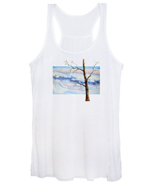 A Tree In Another Dimension Women's Tank Top