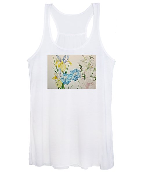 A Variety-posthumously Presented Paintings Of Sachi Spohn  Women's Tank Top