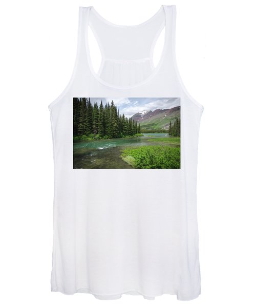 A Walk In The Forest Women's Tank Top