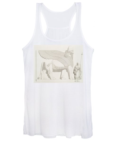 A Winged Human-headed Lion From Nimroud Women's Tank Top