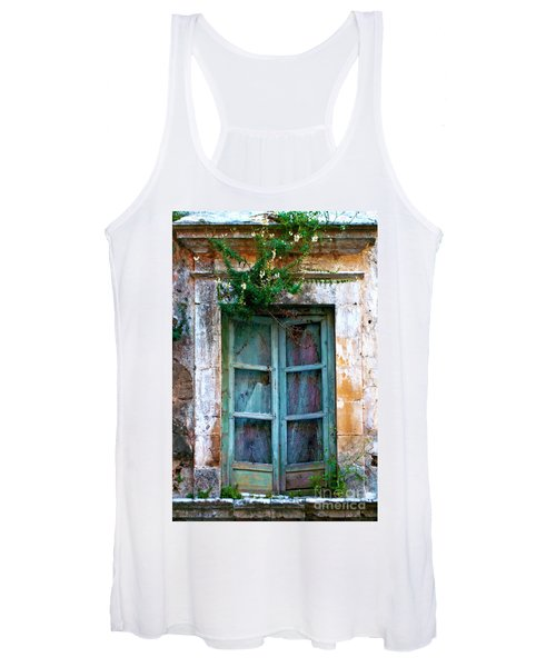 Abandoned Sicilian Sound Of Noto Women's Tank Top
