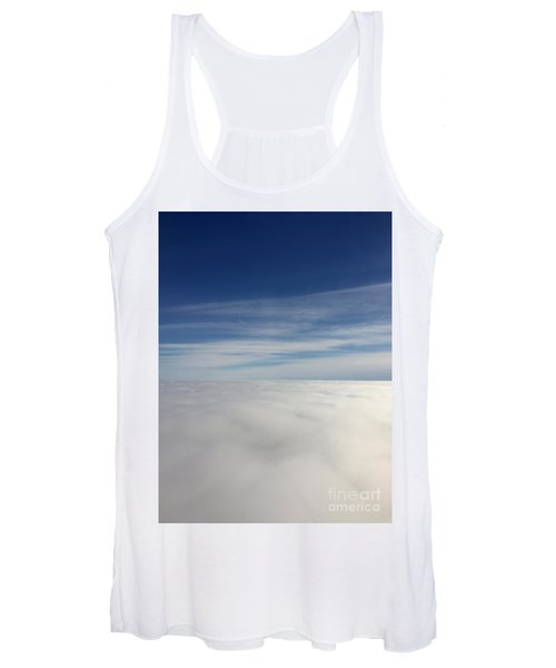 Above The Clouds I Women's Tank Top