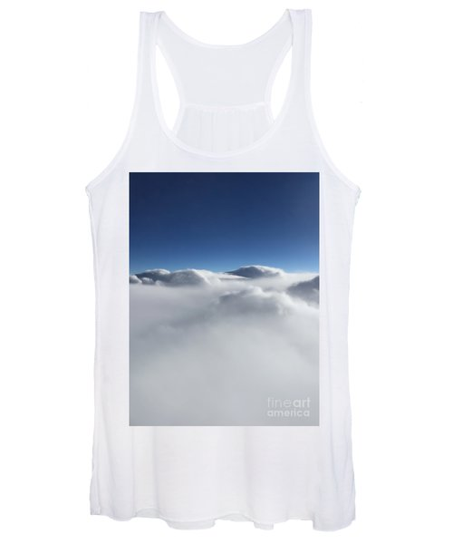 Above The Clouds II Women's Tank Top