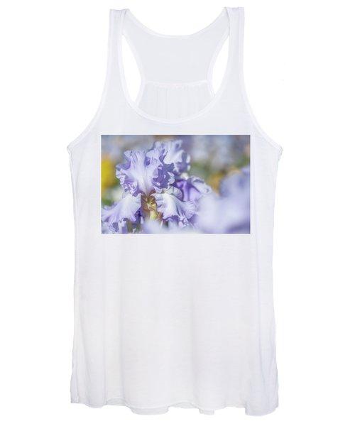 Absolute Treasure 1. The Beauty Of Irises Women's Tank Top