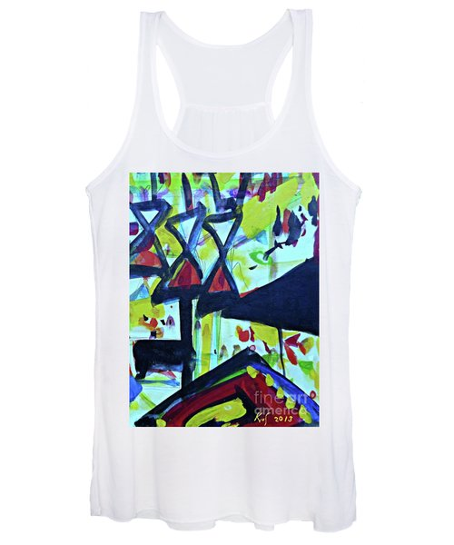 Abstract-27 Women's Tank Top