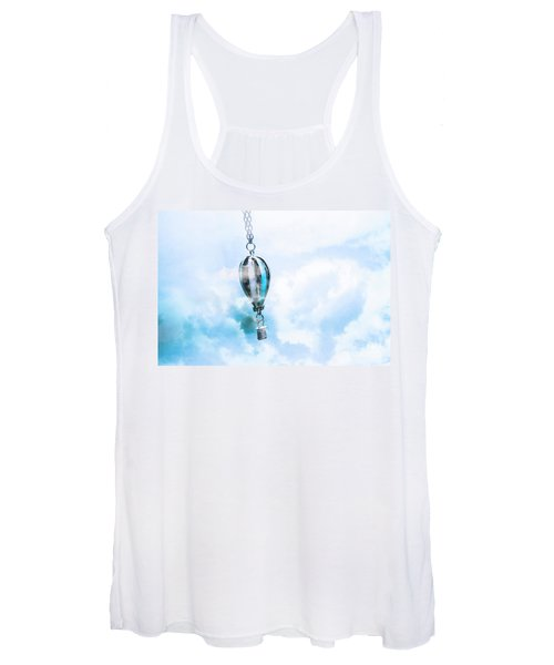 Abstract Air Baloon Hanging On Chain Women's Tank Top