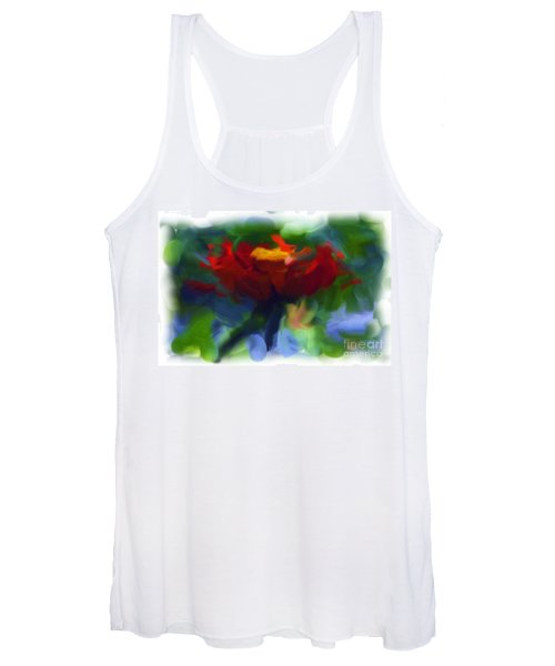 Abstract Flower Expressions 2 Women's Tank Top