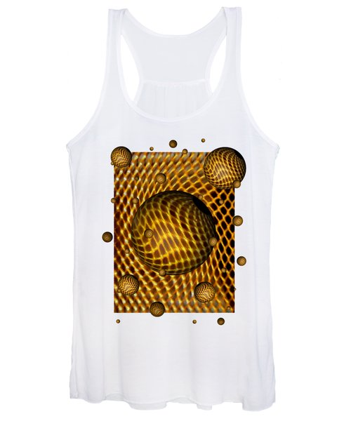 Abstract - Life Grid Women's Tank Top
