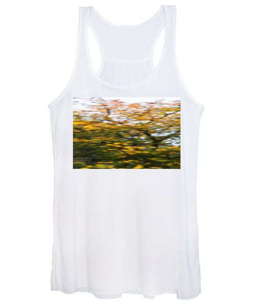 Abstract Of Maple Tree Women's Tank Top