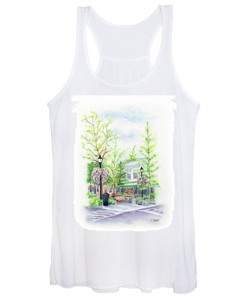 Across The Plaza Women's Tank Top
