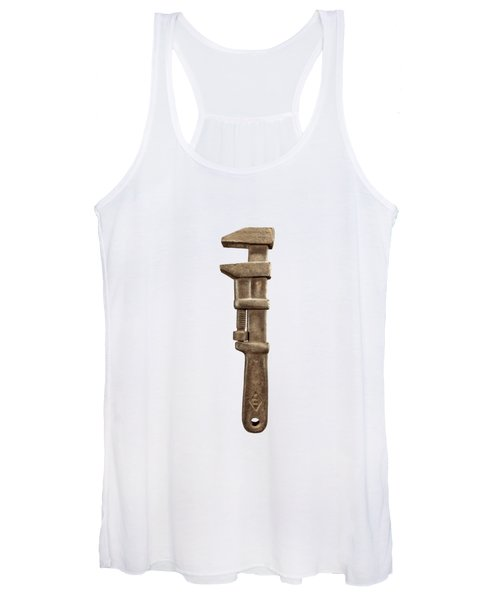 Adjustable Wrench Left Face Women's Tank Top