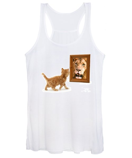 Admiring The Lion Within Women's Tank Top