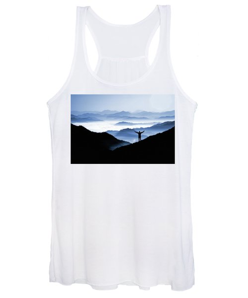 Adoration Of Natural Beauty Women's Tank Top