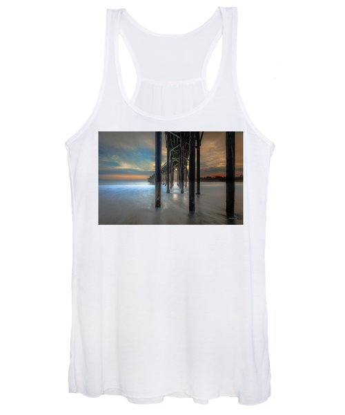 Afterglow At San Simeon Women's Tank Top