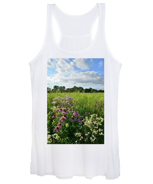 Afternoon In Moraine Hills State Park Women's Tank Top